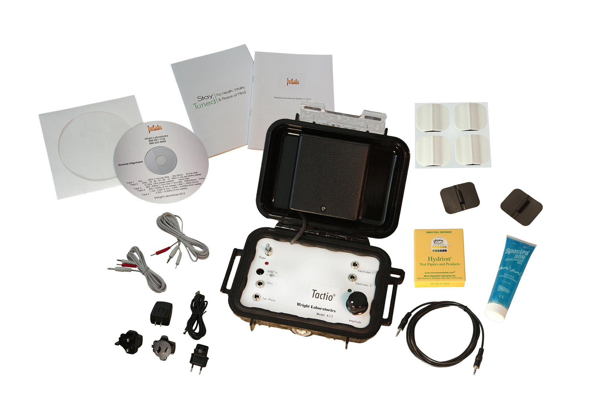 JWLABS' Model A-3 with start-up kit