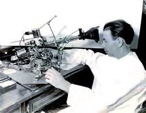 Royal Rife with microscope